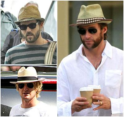 Chapéu panamá em homens!