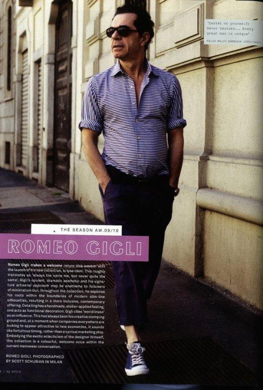 Romeo Gligli,designer